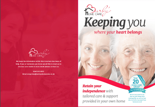 Burley's Home Care Brochure